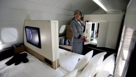 Etihad Airways offers residence in the sky