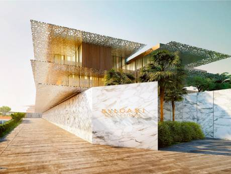 Bulgari hotel to open on jumeirah bay island in dubai for Bulgari hotel dubai