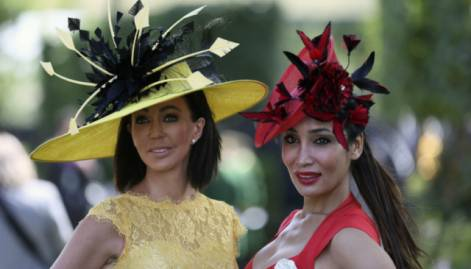 Hats on at the Royal Ascot horse racing festival