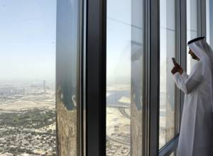 Tallest observation deck opened at Burj Khalifa