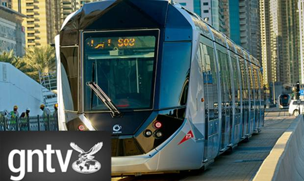 Dubai Tram Rolls out to the public