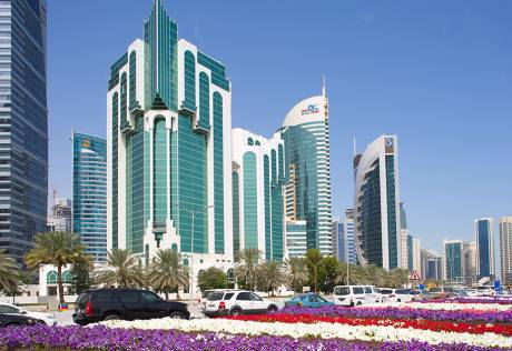 50% rent discount to private companies in Qatar