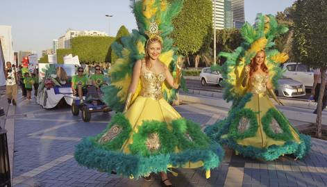 In pictures: Yasalam opening parade