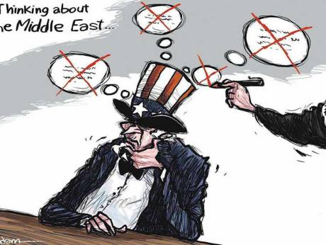 Between the Middle East and the Americas