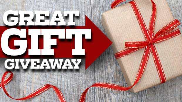 Great gift giveaways