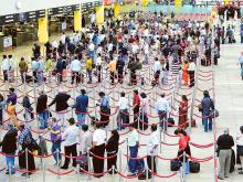 No more queues at Dubai's Terminal 3?
