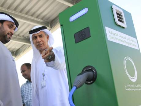 Charging Stations For Hybrid And Electric Cars Open In Dubai