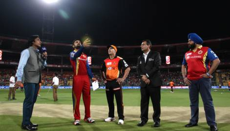 IPL: Royal Challengers vs Sunrisers Hyderabad