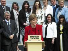 Sturgeon steps out of Salmond's shadow