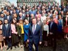 Cameron unveils new cabinet after poll victory