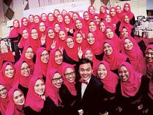 Malaysia's all-girl ensemble charms New York