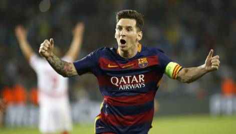 Messi stars as Barca beat Sevilla in Super Cup