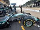 Hamilton claims sixth successive pole position