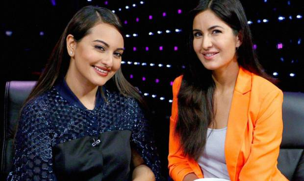 Sonakshi and Katrina in celebwatch