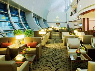 Budget flyers can now use Emirates lounges