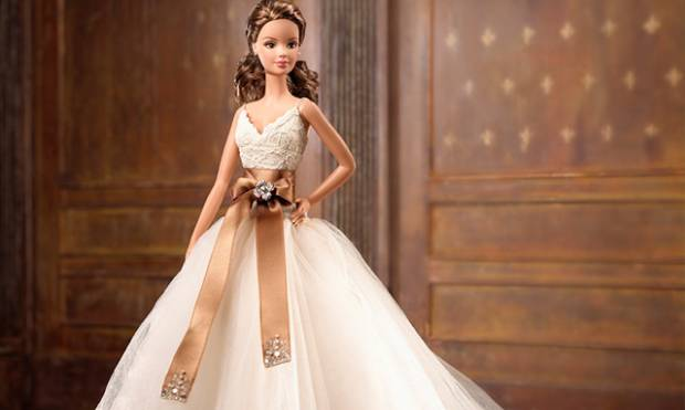 Barbie wears creations of top fashion houses