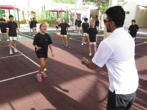 Big push for squash among school kids