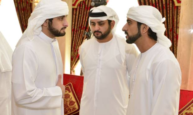 Pictures: Mohammad receives condolences