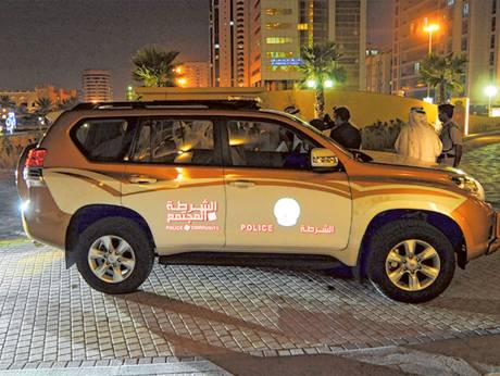 lights replace sirens in ajman community police patrols gulfnews com