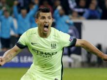 Aguero's dramatic penalty seals points for City