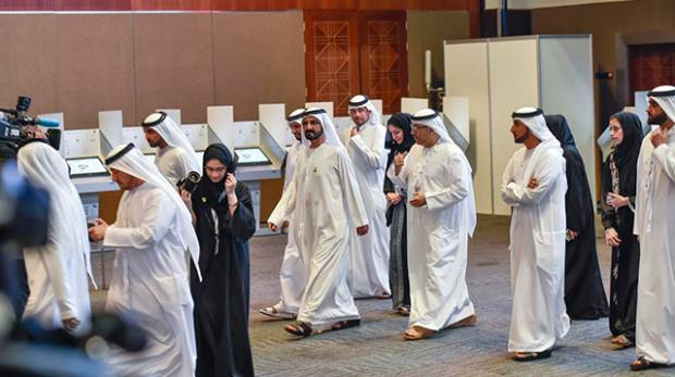 Shaikh Mohammad participates in FNC election