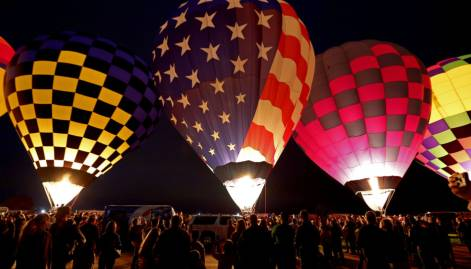 Pictures: Albuquerque Balloon Fiesta