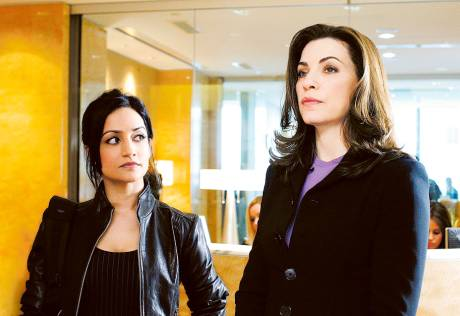 'The Good Wife' feud rumours live on