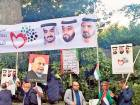 Hundreds rally in London to support UAE in Yemen