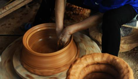 A sneak peek:  Phu Lang Pottery Village