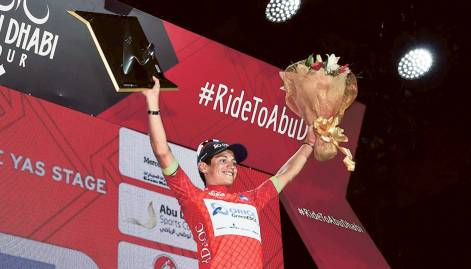In pictures: Abu Dhabi Tour 2015