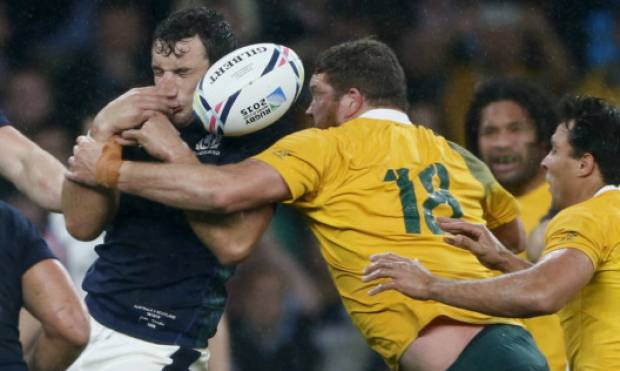 Australia beat Scotland to reach RWC semifinals