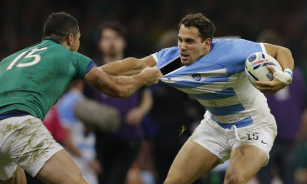 Argentina beat Ireland to reach RWC semis