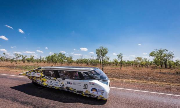 Solar car racers set off in new challenge