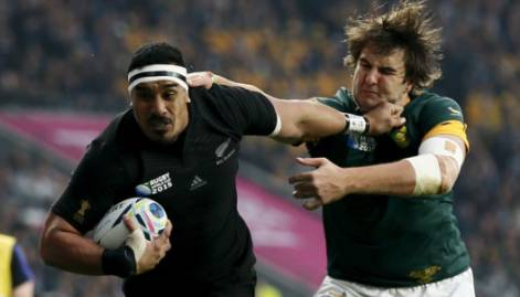 All Blacks beat South Africa to reach RWC final