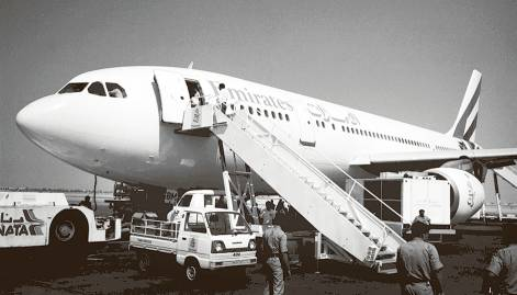 In pictures: Evolution of Emirates airline