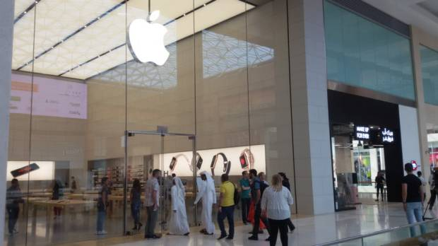 Pictures: Apple Store in Abu Dhabi