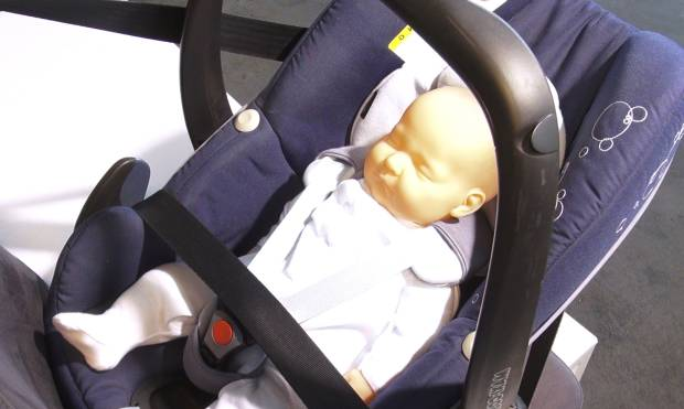Guide: Installing a child safety seat