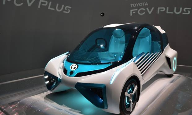 Crazy concept cars at Tokyo Motor Show