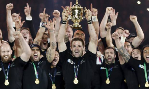 Pictures: New Zealand win Rugby World Cup