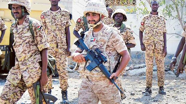 UAE Armed Forces second batch to leave for Yemen