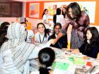 US first lady wants pushes for girls' education