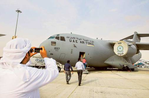 Spike in defence spending seen at Dubai Airshow