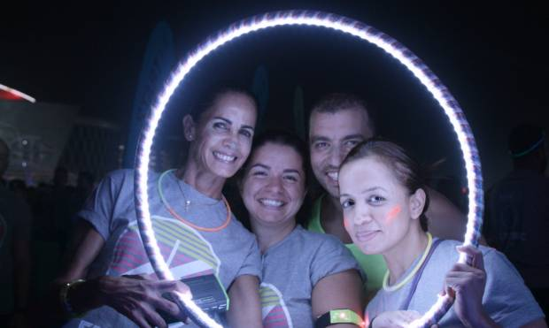 Highlights from the 2015 Dubai Electric Run