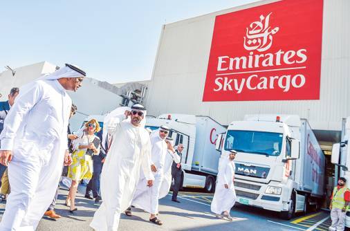 Emirates expects to buck global cargo dip