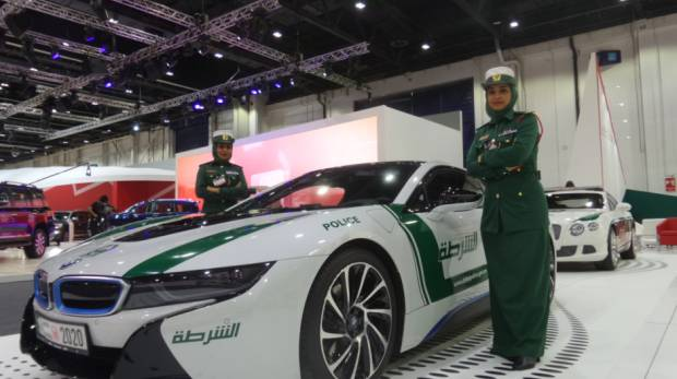 The Complete List Of Dubai Polices Luxury Cars GulfNewscom - Sports cars vs police