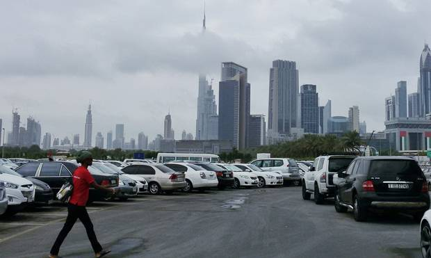 Pictures: Scattered rain hits Dubai, Sharjah