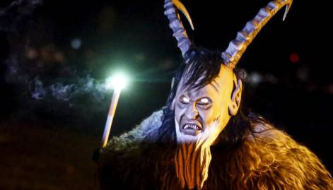 Monsters chase away evil spirits in Austria