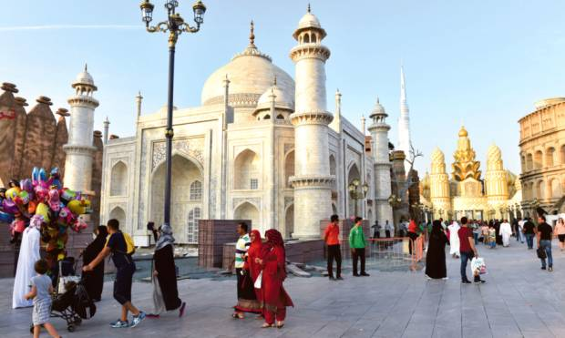 Global Village: A place filled with excitement