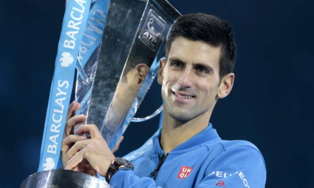 Pictures: Djokovic beats Federer at ATP finals