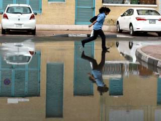Chance of rain persists in parts of UAE